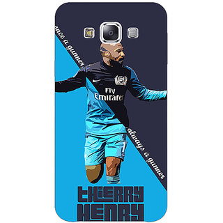 EYP Arsenal Therry Henry Back Cover Case For Samsung Galaxy On7