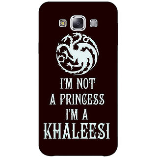 EYP Game Of Thrones GOT Princess Khaleesi Back Cover Case For Samsung Galaxy On5