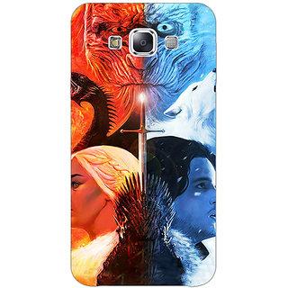 EYP Game Of Thrones GOT Khaleesi Daenerys Targaryen House Stark Jon Snow Back Cover Case For Samsung Galaxy On7