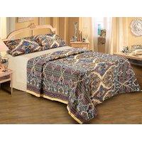 Belkado 100% Cotton Printed Double Bedsheet Design 27