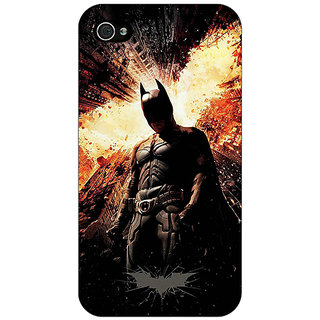 Enhance Your Phone Superheroes Batman Dark knight Back Cover Case For Apple iPhone 4 E10015