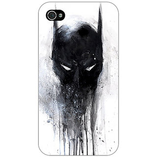 Enhance Your Phone Superheroes Batman Dark knight Back Cover Case For Apple iPhone 4 E10019