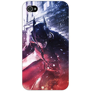 Enhance Your Phone Superheroes Batman Dark knight Back Cover Case For Apple iPhone 4 E10020