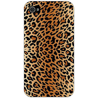 Enhance Your Phone Cheetah Leopard Print Back Cover Case For Apple iPhone 4 E10078