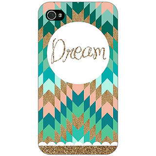 Enhance Your Phone Dream Back Cover Case For Apple iPhone 4 E10095
