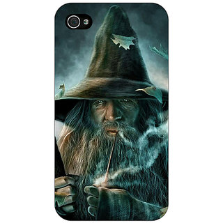 Enhance Your Phone LOTR Hobbit Gandalf Back Cover Case For Apple iPhone 4 E10364