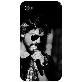 Enhance Your Phone Bollywood Superstar Shahrukh Khan Back Cover Case For Apple iPhone 4 E10904
