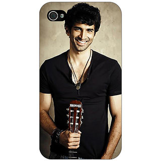 Enhance Your Phone Bollywood Superstar Aditya Roy Kapoor Back Cover Case For Apple iPhone 4 E10937