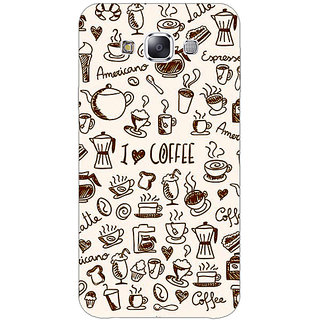 EYP Coffee Love Back Cover Case For Samsung Galaxy On7