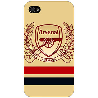 Enhance Your Phone Arsenal Back Cover Case For Apple iPhone 4 E10519