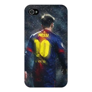 Enhance Your Phone Barcelona Messi Back Cover Case For Apple iPhone 4 E10524