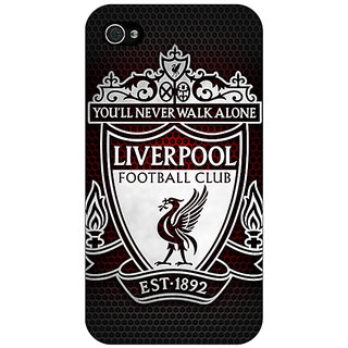 Enhance Your Phone Liverpool Back Cover Case For Apple iPhone 4 E10543