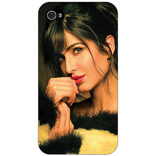 Enhance Your Phone Bollywood Superstar Katrina Kaif Back Cover Case For Apple iPhone 4 E11056