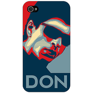 Enhance Your Phone Bollywood Superstar Don Shahrukh Khan Back Cover Case For Apple iPhone 4 E11113