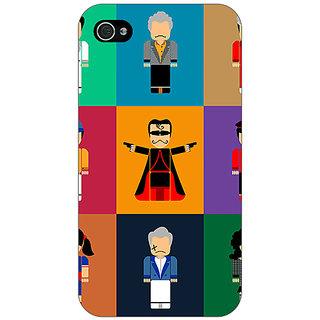 Enhance Your Phone Bollywood Superstar Villain Back Cover Case For Apple iPhone 4 E11118