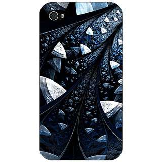 Enhance Your Phone Abstract Design Pattern Back Cover Case For Apple iPhone 4 E11523