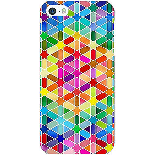 Enhance Your Phone Hexagon Star Pattern Back Cover Case For Apple iPhone 5 E20280