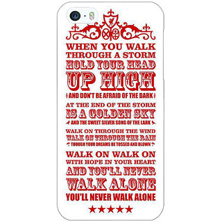 Enhance Your Phone Liverpool Back Cover Case For Apple iPhone 5 E20551