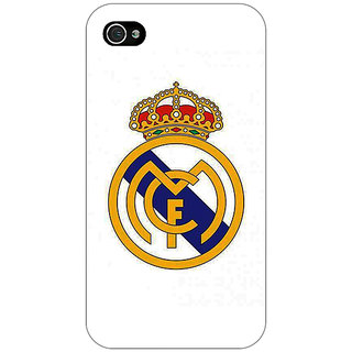 Enhance Your Phone Real Madrid Back Cover Case For Apple iPhone 4 E10584