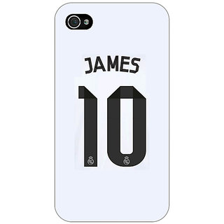 Enhance Your Phone Real Madrid James Rodriguez Back Cover Case For Apple iPhone 4 E10592