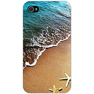 Enhance Your Phone Summer Beach Back Cover Case For Apple iPhone 4 E11139