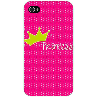 Enhance Your Phone Princess Back Cover Case For Apple iPhone 4 E11400