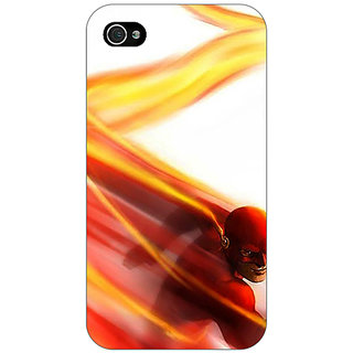 Enhance Your Phone Flash Back Cover Case For Apple iPhone 4 E11434