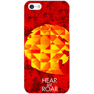 Enhance Your Phone Game Of Thrones GOT House Lannister  Back Cover Case For Apple iPhone 5 E20159