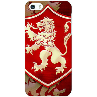 Enhance Your Phone Game Of Thrones GOT House Lannister  Back Cover Case For Apple iPhone 5 E20161