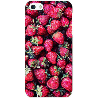 Enhance Your Phone Strawberry Pattern Back Cover Case For Apple iPhone 5c E30201
