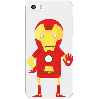 Enhance Your Phone Superheroes Iron Man Back Cover Case For Apple iPhone 5 E20329