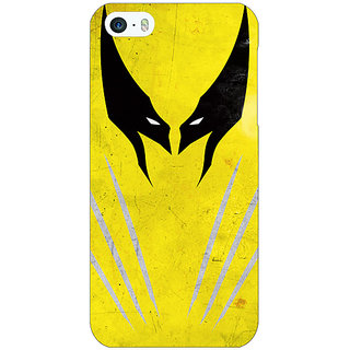 Enhance Your Phone Superheroes Wolverine Back Cover Case For Apple iPhone 5 E20336