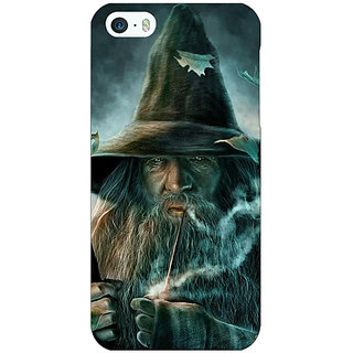 Enhance Your Phone LOTR Hobbit Gandalf Back Cover Case For Apple iPhone 5 E20364