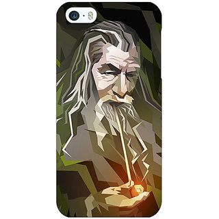 Enhance Your Phone LOTR Hobbit Gandalf Back Cover Case For Apple iPhone 5 E20366