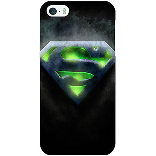 Enhance Your Phone Superheroes Superman Back Cover Case For Apple iPhone 5 E20389