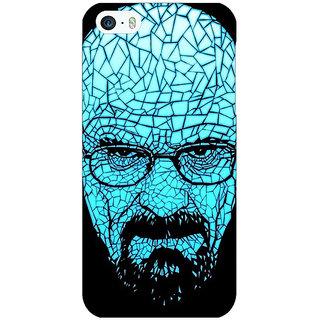 Enhance Your Phone Breaking Bad Heisenberg Back Cover Case For Apple iPhone 5 E20428