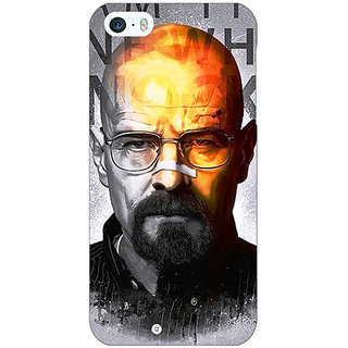Enhance Your Phone Breaking Bad Heisenberg Back Cover Case For Apple iPhone 5 E20429