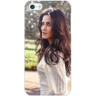 Enhance Your Phone Bollywood Superstar Katrina Kaif Back Cover Case For Apple iPhone 5 E20981
