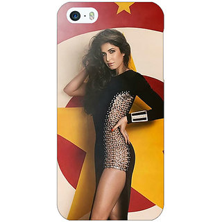 Enhance Your Phone Bollywood Superstar Katrina Kaif Back Cover Case For Apple iPhone 5 E20986