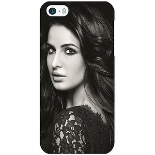 Enhance Your Phone Bollywood Superstar Katrina Kaif Back Cover Case For Apple iPhone 5 E21005