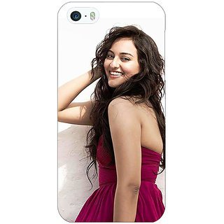 Enhance Your Phone Bollywood Superstar Sonakshi Sinha Back Cover Case For Apple iPhone 5 E21020