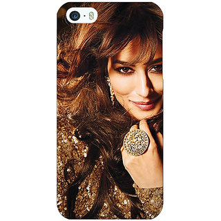 Enhance Your Phone Bollywood Superstar Chitrangada Singh Back Cover Case For Apple iPhone 5 E21034
