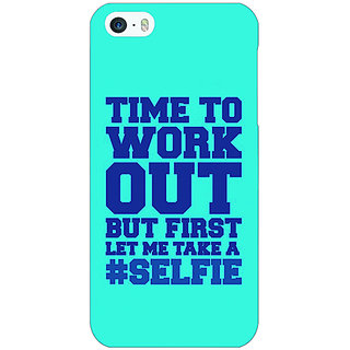 Enhance Your Phone Selfie Quote Back Cover Case For Apple iPhone 5 E21500