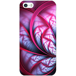 Enhance Your Phone Abstract Flower Pattern Back Cover Case For Apple iPhone 5 E21501