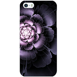 Enhance Your Phone Abstract Flower Pattern Back Cover Case For Apple iPhone 5 E21518