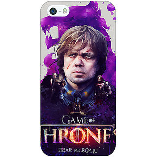 Enhance Your Phone Game Of Thrones GOT House Lannister Tyrion Back Cover Case For Apple iPhone 5 E21546
