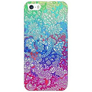 Enhance Your Phone Flower Gardens Pattern Back Cover Case For Apple iPhone 5c E30249