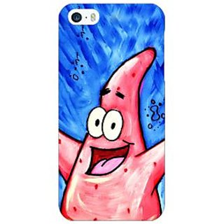 Enhance Your Phone Spongebob Patrick Back Cover Case For Apple iPhone 5 E20463