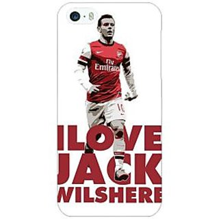 Enhance Your Phone Arsenal Jack Wilshere Back Cover Case For Apple iPhone 5 E20520