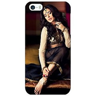 Enhance Your Phone Bollywood Superstar Nargis Fakhri Back Cover Case For Apple iPhone 5 E21049